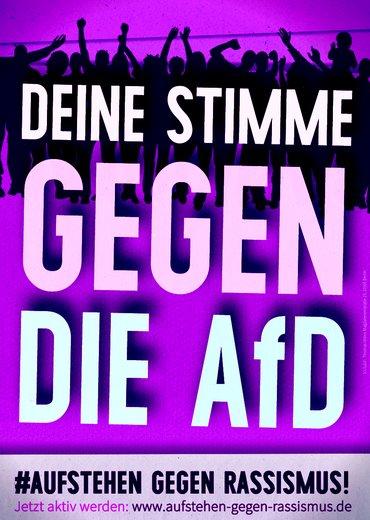Deine Stimme gegen die AfD