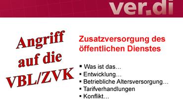Zusatzversorgung VBL/ZVK-Präsentation