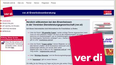 ver.di-Erwerbslosenberatung http://www.verdi-erwerbslosenberatung.de/