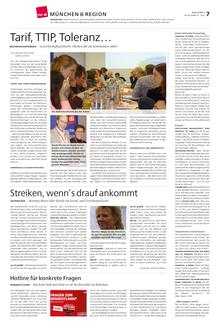 Münchenseite ver.di-Publik 01-2015