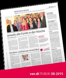 Münchenseite ver.di-Publik 08-2015