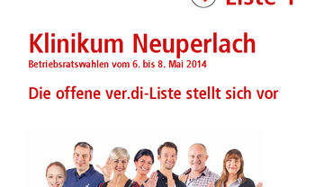 Klinikum Neuperlach - die offene ver.di Liste