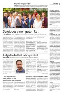 Münchenseite ver.di-Publik 07-2015