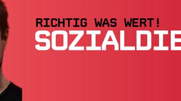Banner Soziale Berufe Aufwerten! Sozialdienst