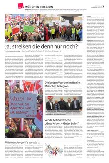 Münchenseite ver.di-Publik 03-2015