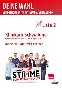Klinikum Schwabing - die ver.di Liste