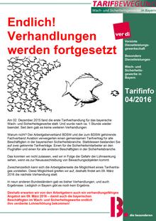 Tarifinfo (04/2016)