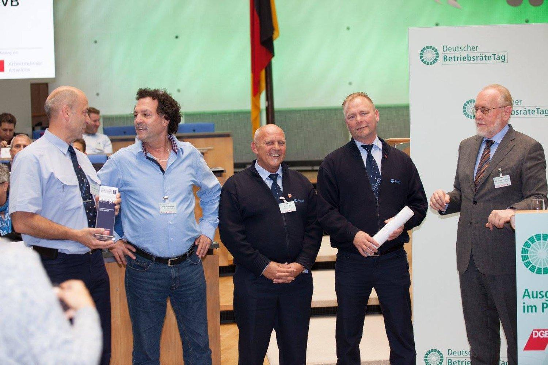 Hohe Auszeichnung Für Betriebsrat Der SWM