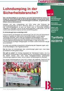 Tarifinfo (02/2015)