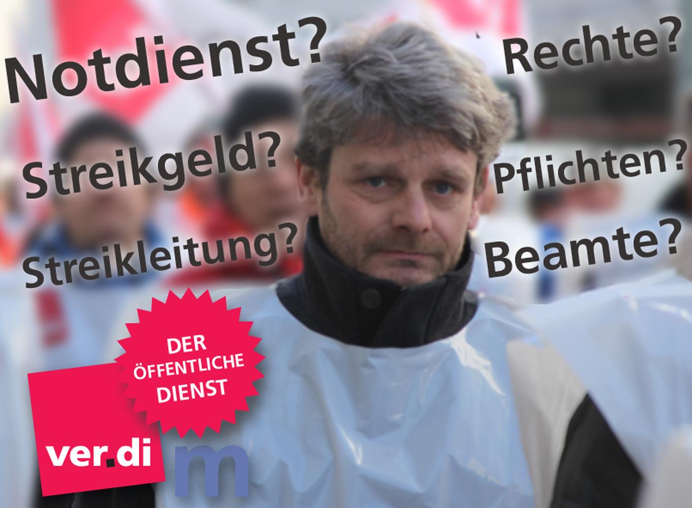 TVÖD/TVV: Schulung Zum Arbeitskampfrecht