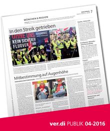 Münchenseite ver.di-Publik 04-2016