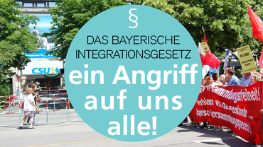 Bündnis gegen das bayerische Integrationsgesetz