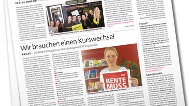 Münchenseite ver.di-PUBLIK 08-2016