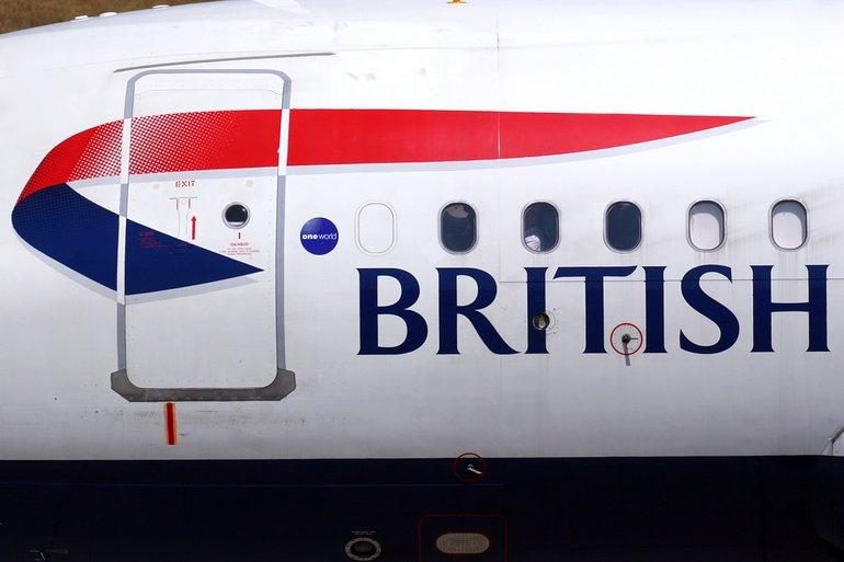 British Airways Maschine