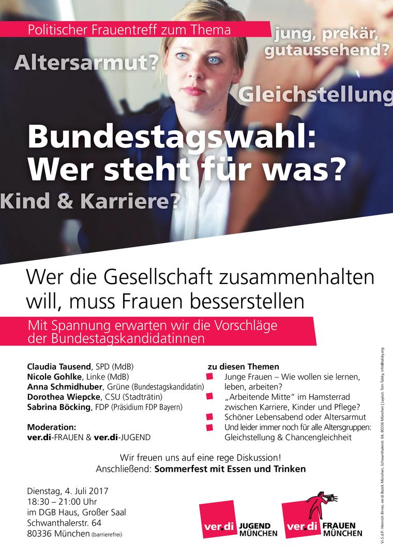 Politischer Frauentreff Bundestagswahl 2017