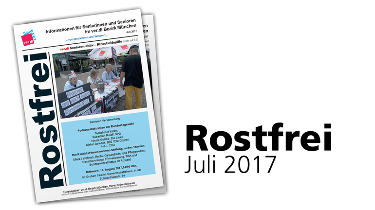 Rostfrei Juli 2017
