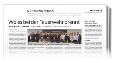 Münchenseite ver.di-PUBLIK 07-2016