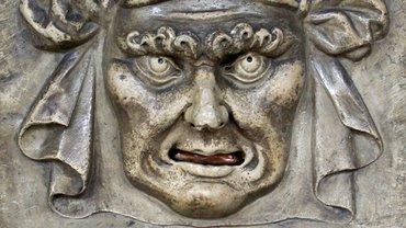 """""""Löwenmaul"""" am Dogenpalast, dort konnte man anonyme Denunziationen einwerfen."""