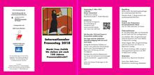 Einladung zur Festveranstaltung zum Internationalen Frauentag 2018 München
