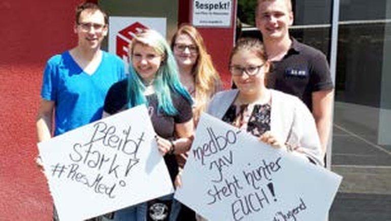 ver.di-Jugend solidarisch mit ResMed-Kolleg/innen