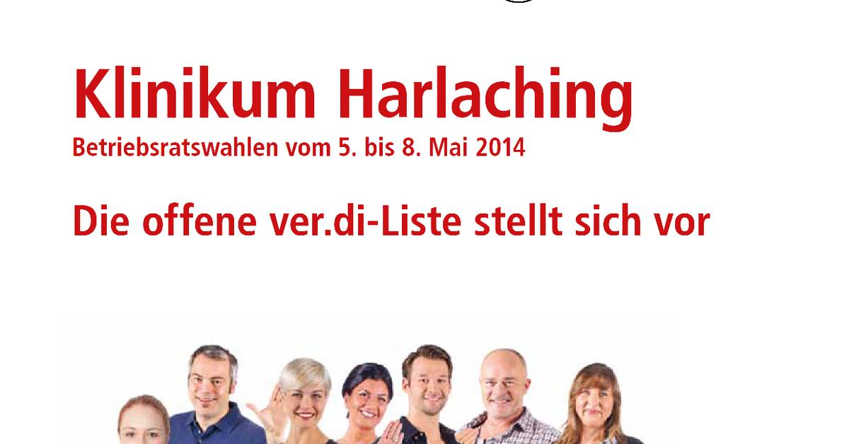 Verdi Klinikum Harlaching Die Offene Verdi Liste
