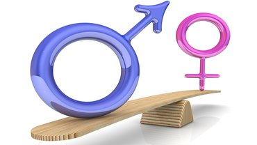 Frauenquote Frauenanteil Mann Frau Waage