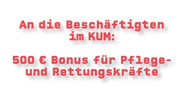500 € Bonus für Pflege- und Rettungskräfte