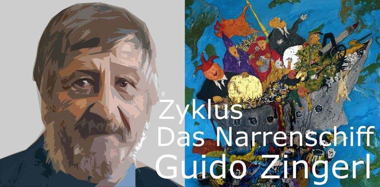 """""""Das Narrenschiff"""" von Guido Zingerl"""