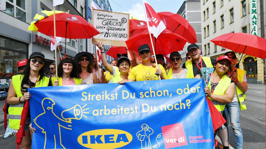 Streik Handel München